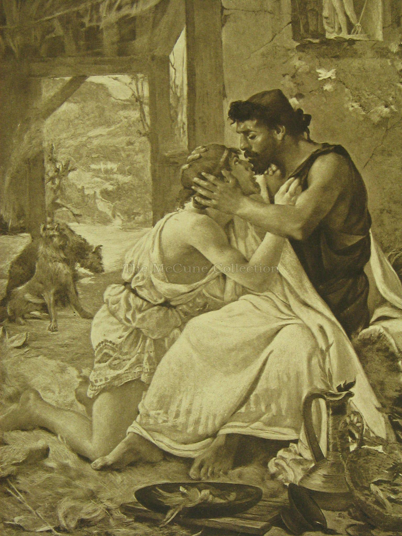 relationship between telemachus and eumaeus greek